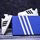 Женские кроссовки Adidas White / Адидас Белые, фото 5