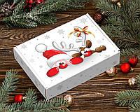 Коробка подарункова новорічна / упаковка 10 шт 5 см х 17 см х 25 см, Герої