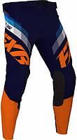 Мотоштаны FXR Clutch MX 21 оранжевый/синий, L