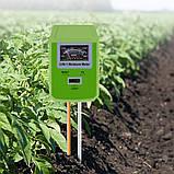 Измеритель кислотности pH, влажности, освещенности почвы YiERYi ЕТП-304 (3 в 1), фото 5