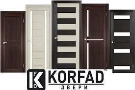 Межкомнатные двери Корфад в Запорожье