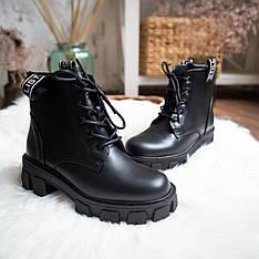 Женские ботинки Стилли РОТ Pobedov (черные)