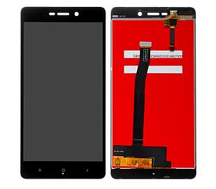 Модуль для Xiaomi Redmi 3, 3S, 3S Prime, 3X, черный, дисплей + сенсор