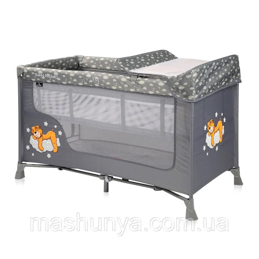 Манеж - кровать Lorelli SR 2 с пеленатором Пром