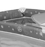 Манеж - кровать Lorelli SR 2 с пеленатором Пром, фото 7