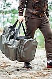 Многофункциональная транспортировочная сумка для рыболовных снастей, 5 отделений, с наплечным ремнем, фото 4