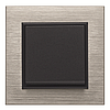 Рамка 2Х горизонтальная Lumina-Passion черное стекло, фото 2