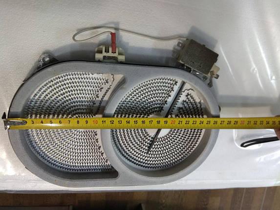 Конфорка для стеклокерамики 2000/900W, фото 2