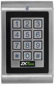 Антивандальная кодовая панель доступа по картам Em-Marine ZKTeco MK-HE