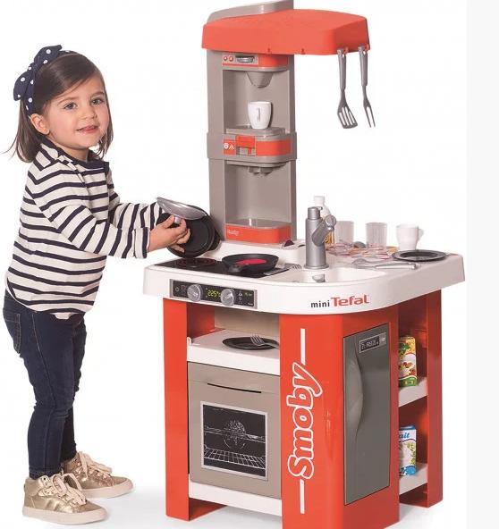 Интерактивная кухня Smoby Toys Тефаль Студио Френч с аксессуарами и звуковым эффектом (311042)