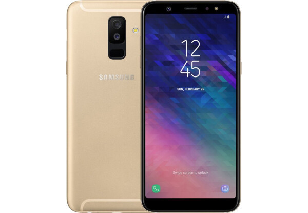 Смартфон Samsung Galaxy A6 Plus A605F Gold Stock B-