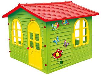 Домик детский игровой Mochtoys 127×150×118 см зеленый 10425