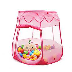 Палатка колокольчик с шарами детская 110×82 см 4883  Польша