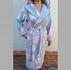 Халат женский на запах с капюшоном из Well Soft, Украина, р 46, цвета в ассортименте, 20038809, фото 7