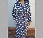 Халат женский на запах с капюшоном из Well Soft, Украина, р 46, цвета в ассортименте, 20038809, фото 6