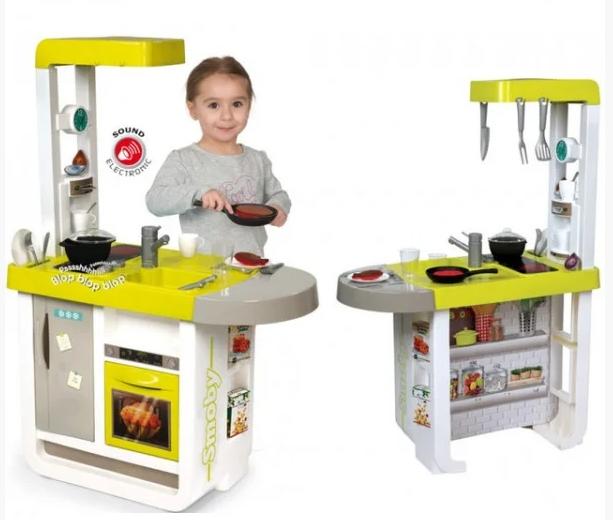 Интерактивная кухня Smoby Cherry звуковая 310908