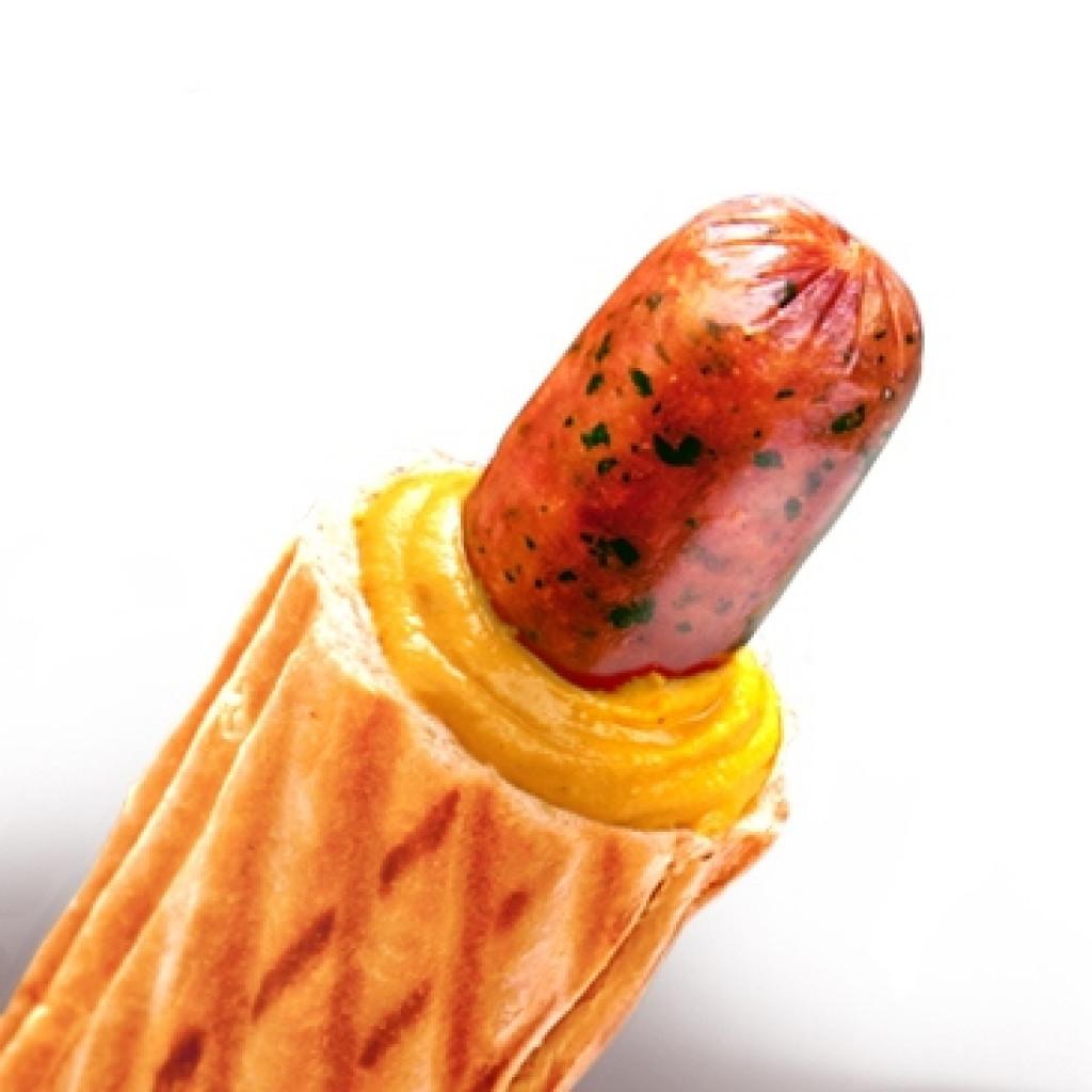 Сосиски баварские для французского хот-дога