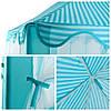 Палатка детская игровая голубая KRUZZEL 6105, фото 3