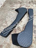 Карманы дверей на ВАЗ 2108 2109 21099  акустические карманы накладки на двер подиум черный РОМБ ЛЮКС