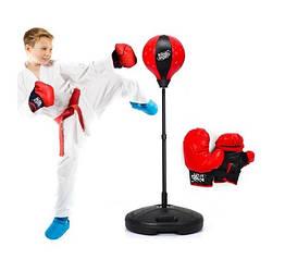 Боксерский набор груша и перчатки 9536