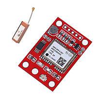 GPS модуль приемник Ublox Neo-6M-0-001 с керамической антенной