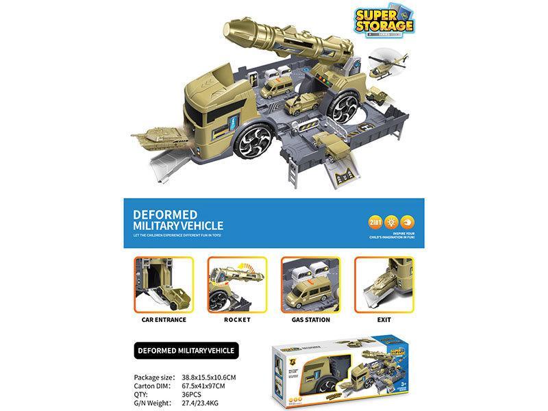 Игровой набор Военный трейлер GT317651
