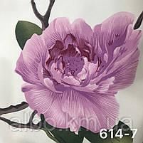 Шторная ткань с цветами, высота 2.8 м на метраж (614), фото 9