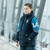 """Куртка-жилет для мальчика """"Фили"""" 34 размер, фото 1"""