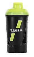 Шейкер Progress Nutrition Shaker black-killer yellow 600 ml