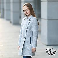Элегантное кашемировое пальто для девочки «Леди», фото 1