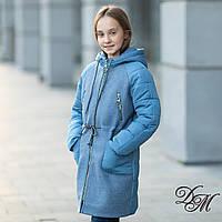 Парка для девочки кашемир + плащевка   «Лиди», фото 1