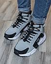 Кросівки чоловічі зимові N Air Huarache x Acronym Grey, фото 4