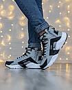 Кросівки чоловічі зимові N Air Huarache x Acronym Grey, фото 5