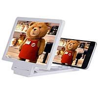 3D Подставка-увеличитель экрана для смартфона! Скидка