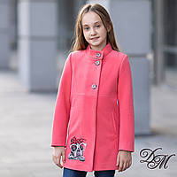 Элегантное кашемировое пальто для девочки «Стина», фото 1