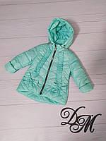 Куртка демисезонная для девочки «Бантик», фото 1