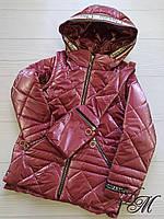 Куртка-жилет для девочки «Арния»+сумка-бананка, фото 1
