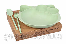 Многоразовая детская посуда оптом набор