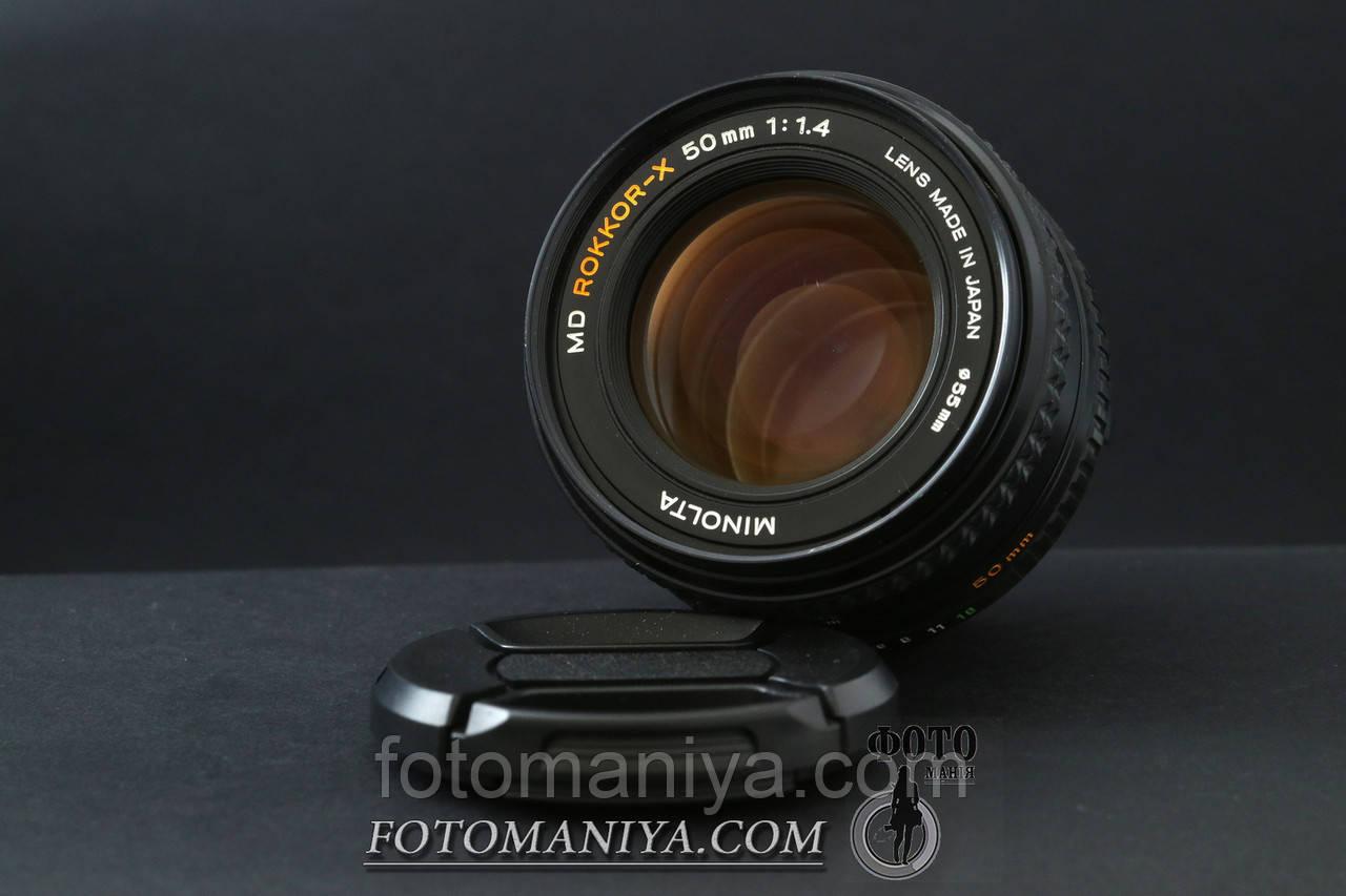 Minolta MD Rokkor-X 50mm f1.4