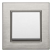 Рамка 1Х Lumina-Passion бронзовый алюминий, фото 2