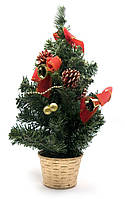Елка новогодняя Красный декор 40 см.