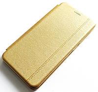 Чехол книжка Momax New для Samsung Galaxy A11 A115F Золотистый