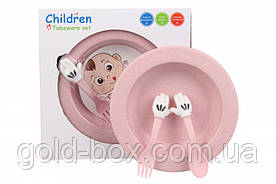 Детская многоразовая посуда оптом набор