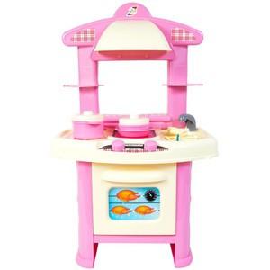 Игрушка Кухня детская розовая Орион