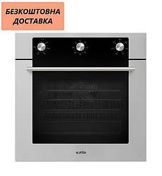 Духова шафа Ventolux EO56M-6K WH/X Нержавіюча сталь, Чорне скло