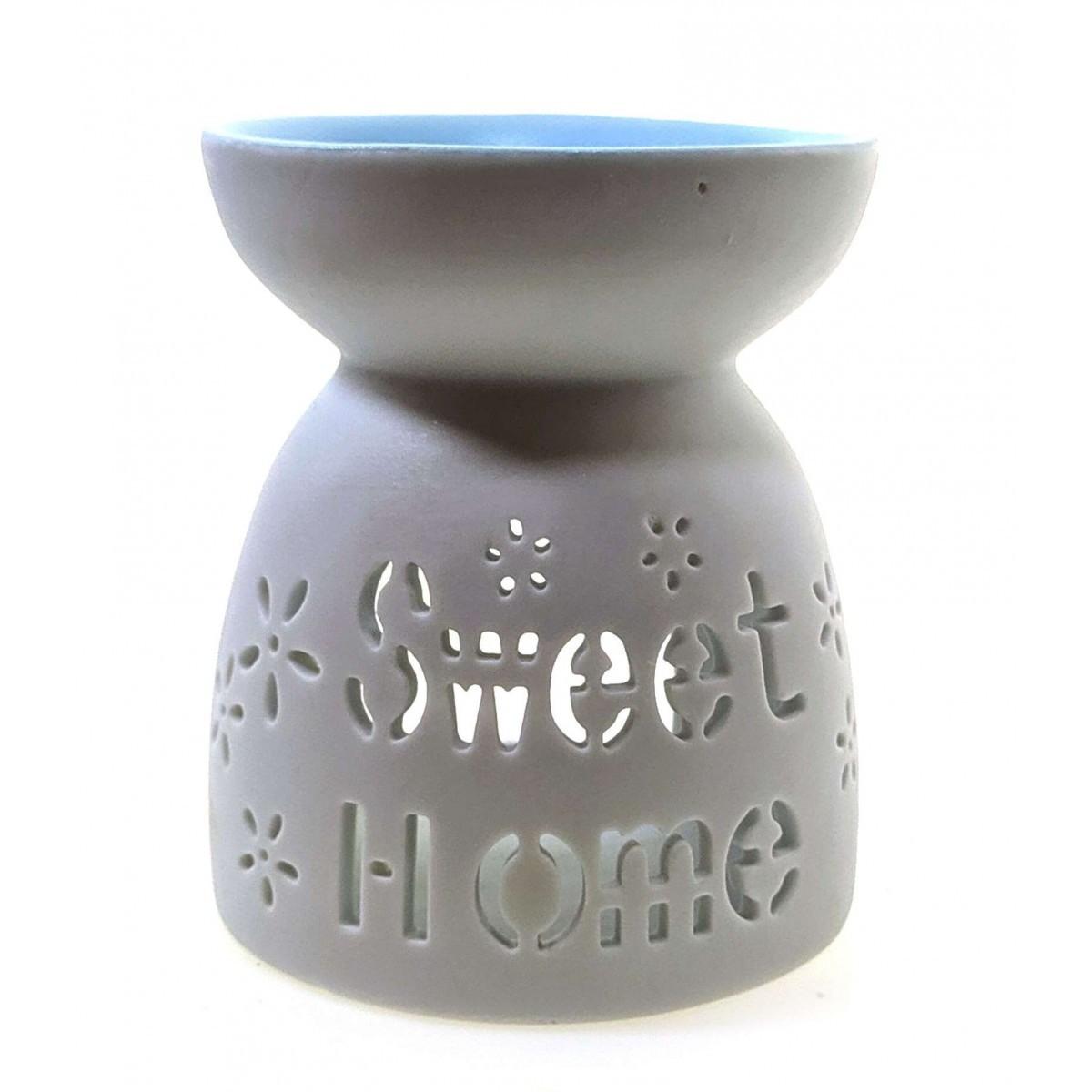 Стильная аромалампа керамическая Милый дом
