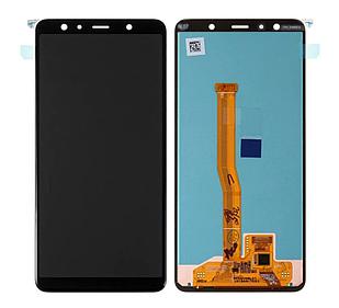 Модуль для Samsung Galaxy A7 Samsung A750, черный, дисплей + сенсор