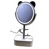 Зеркало настольное с  LED подсветкой, фото 3