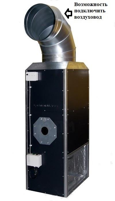 Воздухонагреватель на отработке MTM MP-50 (60 кВт)   Фото-1