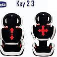 Автокресло Chicco Key 2-3 15-36 кг 3-12 лет, фото 3